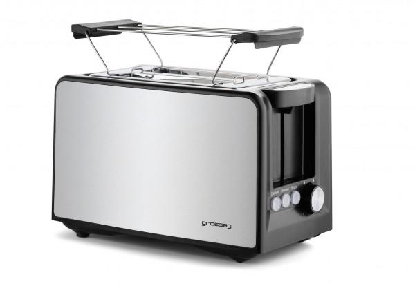 grossag Edelstahl-Toaster TA 33
