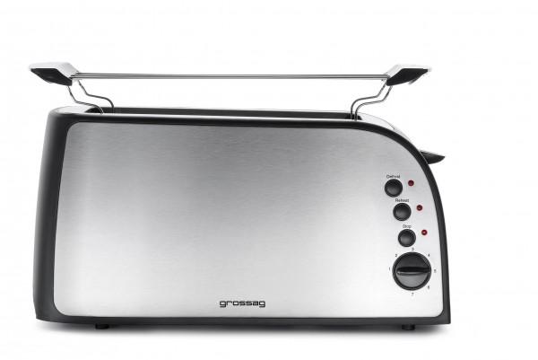 grossag Edelstahl-Toaster TA 41.07